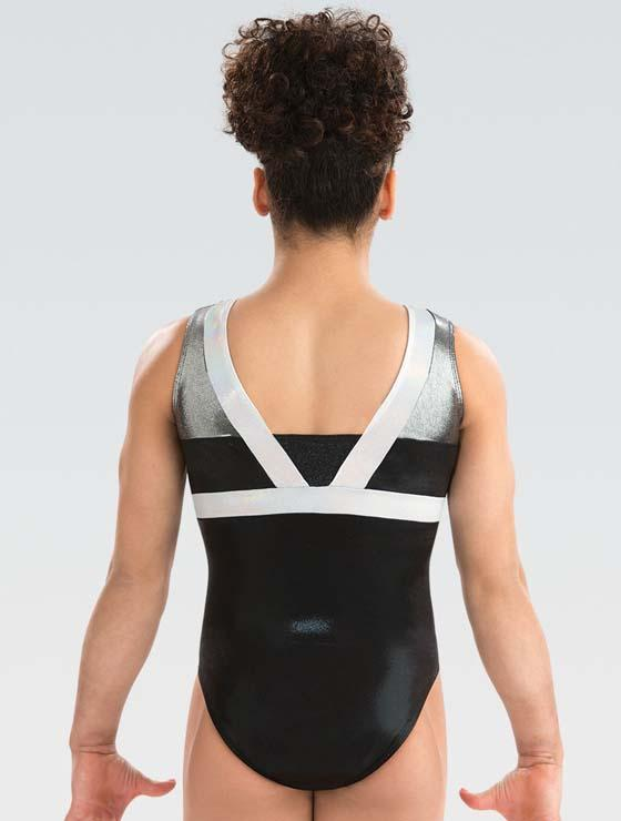 GK 3799 Black Tie Leotard